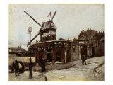 The Moulin de La Galette, 1886 Giclee Print by Vincent van Gogh