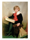 Portrait of Norman Stewart Davies Giclee Print by George Hillyard Swinstead