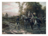 Foraging Party Returning to Camp Giclee Print by Robert Alexander Hillingford
