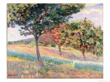 Orchard at St. Cheron, 1893 Giclee Print by Armand Guillaumin