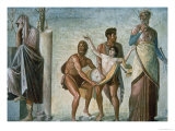 The Sacrifice of Iphigenia, from the House of the Tragic Poet, 1st Century Ad Giclee Print by Timante
