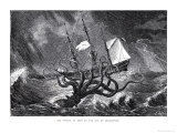 The Kraken, as Seen by the Eye of Imagination, from John Gibson's Monsters of the Sea, 1887 Giclee Print by Edward Etherington