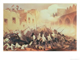Storming of Delhi in 1857, from The Campaign in India Giclee Print by George Franklin Atkinson