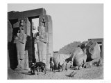 The Ramesseum, Thebes, Egypt, 1858 Giclee Print by Francis Frith