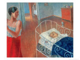 Sleeping Child, 1924 Giclee Print by Kuzma Sergievitch Petrov-Vodkin