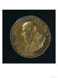 Portrait Medal of Clement VII Giclee Print by Benvenuto Cellini
