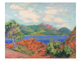 The Bay of Agay, c.1905 Giclee Print by Armand Guillaumin
