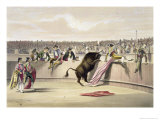 The Bull Leaping the Barriers, 1865 Giclee Print by William Henry Lake Price