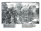 The English Army Marching with Sir Henry Sidney Giclee Print by Friedrich Van Hulsen