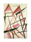 Linear Construction, c.1921 Giclee Print by Liubov Sergeevna Popova