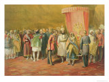 The First Investiture of the Star of India, 1863 Giclee Print by William Simpson
