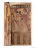 The Campana Plaque, a Winged Genie Carries Off a Woman Accompanied by an Archer, c.550-525 BC Giclee Print by  Etruscan