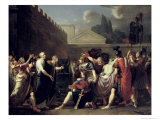 The Death of Brutus, 1793 Giclee Print by Pierre Narcisse Guérin