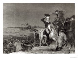 The Passage of the Delaware in 1776, Engraved by J.N. Gimbrede For 'The New York Mirror Giclee Print by Thomas Sully
