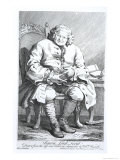 Portrait of Simon Fraser, Lord Lovat Giclee Print by William Hogarth