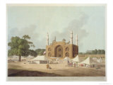 Gate of the Tomb of the Emperor Akbar Giclee Print by Thomas & William Daniell