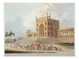Eastern Gate of Jummah Musjid at Delhi, Oriental Scenery: Twenty Four Views in Hindoostan, 1795 Giclee Print by Thomas & William Daniell