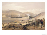 Balaklava, Plate from The Seat of War in the East, Pub. by Paul and Dominic Colnaghi and Co., 1856 Giclee Print by William Simpson
