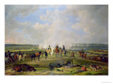 Napoleon and His Troops at Beshenkovichi, 24th July, 1812 Lámina giclée por Albrecht Adam