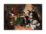 Marie Antoinette and Her Children Giclee Print by Edward Matthew Ward