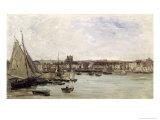 Dieppe, 1875 Giclee Print by Charles-Francois Daubigny