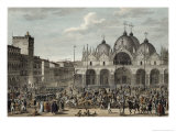 The Entry of the French Into Venice in Floreal, Year 5 Giclee Print by Antoine Charles Horace Vernet