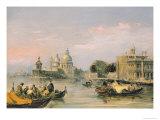 Santa Maria Della Salute, Venice Giclee Print by Edward Pritchett