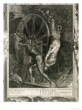 Ixion in Tartarus on the Wheel, 1731 Giclee Print by Bernard Picart