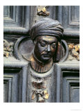 Self Portrait, North Doors of the Baptistery of San Giovanni, 1403-24 Giclee Print by Lorenzo Ghiberti