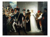 The Execution of Marie Antoinette Giclee Print by George E. Hamilton