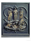 The Transfiguration, Ninth Panel of the North Doors of the Baptistery of San Giovanni, 1403-24 Giclee Print by Lorenzo Ghiberti