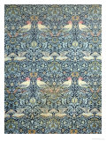 Dove and Rose Fabric Design, c.1879 Giclee Print by William Morris