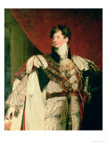 George IV Giclée-tryk af Thomas Lawrence