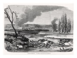 After the Battle of Sedan, from &#39;L&#39;Illustration&#39;, First October 1870 (Engraving) (B/W Photo) Giclee Print by  French