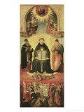 The Triumph of St. Thomas Aquinas Giclee Print by Benozzo di Lese di Sandro Gozzoli