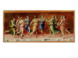 Dance of Apollo with the Nine Muses Giclee Print by Baldassarre Peruzzi