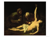 Saint Sebastian Attended by Saint Irene, 1628 Giclee Print by Jusepe de Ribera