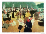 The Luxembourg Gardens, 1895 Giclee Print by Felix Vallotton