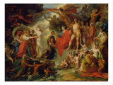 The Triumph of Civilization, c.1794-98 Giclee Print by Jacques Reattu