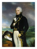 Portrait of Viscount Alexandre-Francois-Marie de Beauharnais Giclee Print by Georges Rouget