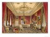 The Queen's Private Sitting Room, Windsor Castle, 1838 Giclee Print by James Baker Pyne