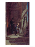 The Stargazer, c.1863 Giclee Print by Carl Spitzweg