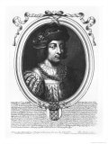 Philip V the Tall Giclee Print by Nicolas de Larmessin