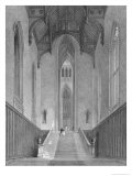 Great Western Hall Leading to the Grand Saloon, Fonthill Abbey, Engraved by c.J. Varrall, 1823 Giclee Print by George Cattermole