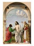 Doubting Thomas with St. Magnus, c.1504-05 Giclee Print by Giovanni Battista Cima Da Conegliano