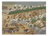 Battle of Vasilika in 1821, from the Pictorial History of the Greek War of Independence Giclee Print
