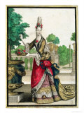 Allegory of Spring, Late 17th Century Giclee Print by Nicolas Bonnart