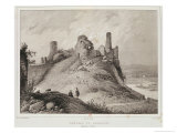 View of Berwick Castle, Berwick-Upon-Tweed, Engraved by Villain Giclee Print by Francois Alexandre Pernot