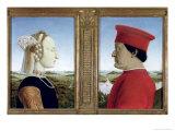 Portraits of Duke Federico Da Montefeltro Giclee Print by  Piero della Francesca