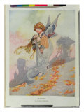 Autumn from the Seasons Commissioned For the 1920 Pears Annual Giclee Print by Charles Robinson